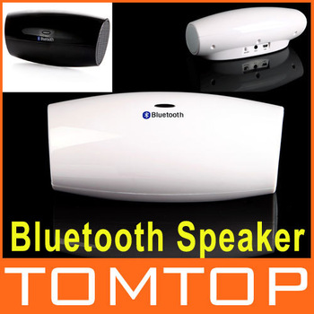 Portable Wireless Bluetooth Speaker Stereo Soundbox Amplifier Music Player LINE IN White