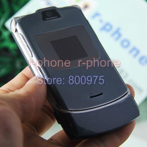 Original Refurbished Motorola V3 mobile cell phone 2G GSM unlocked(China (Mainland))