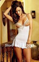 2012 New opne  back Sexy Lingerie Clubwear Fashion Acryl Lingeries Dress Women Costume Free Shipping   EB3324