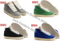 Free shipping 2013 Hot sale Skateboarding Shoes Men & Women Fashion shoes Suede Trainers New arrival