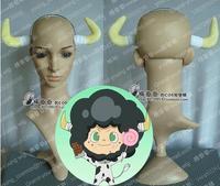 Katekyo Hitman Reborn! Lambo ox horn head wear hair band head band cosplay accessory prop