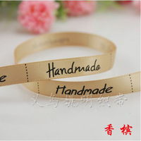 Free shipping handmade satin tape 9mm 100% polyester color tape 100 yards / roll wholesale