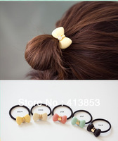 Fshion Korea Exported Rabbit Bowknot Hair Band Elastic Hair Bands Hair Jewelry