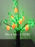 AC 110/220V 0.5m Height 6W 70pcs LED Bulbs LED Peach Tree Lights/LED Christmas/Free Shipping/Green Color
