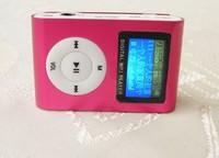 retail hotsale now micro sd card +mini screen clip screen mp3 player --good gifs