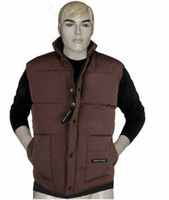 2013Free shipping CANADA Men's Outdoor Parka Coat Down Jacket Hoodie plus 4 colors European size