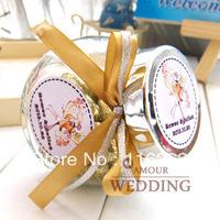 Golden wedding candies glass bottle creative wedding candies BaoZhuangGuan personality wedding ceremony