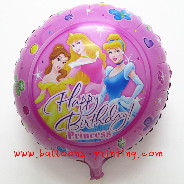 Free shipping Hot-selling ! circle aluminum balloon birthday decoration circle aluminum foil balloon(China (Mainland))