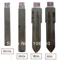 High quality Opel 71 79 80 82 key metal blade HU100A HU43A YM28A HU46 for opel flip remote key