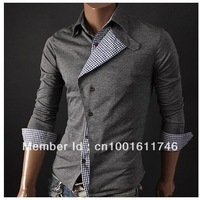 Мужской пуловер Mens 2012 Round Neck Winter Sweater Men's Brand Slim Fit Cardigan Casual Sweater Shirt black/red/khaki M~XXL X-408