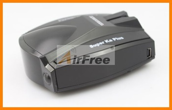 Free shipping New Full Band Black Car Radar Detector Voice for GPS Navigator A381 2398