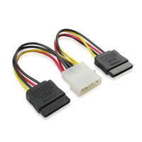 4pin to 15pin power cord / 1 to 2 power cable / 4PIN to SATA cable 50pcs