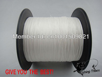 Wholesale - free shipping dyneema braided fishing line fishing tackle 1000M 8LB--80LB--white colors