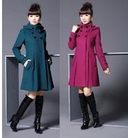 Женская одежда из шерсти duffle W056
