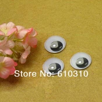 Free shipping wholesale 40mm Black and Whitel circle imitate animal Eye dolls eye googly eye(400pcs/lot)