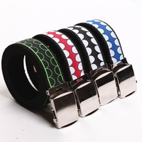 Automatic buckle thickening men's canvas belt male canvas casual strap canvas belt all-match