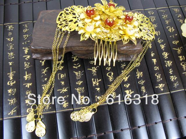 Royal Ancient Princess Jewelry Insert Hair Comb(China (Mainland))