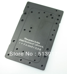 Free Shipping iphone 4 disassemble installation tool screw position memory board screw hole plate mat screwmat(China (Mainland))