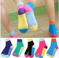 10Pairs/Lot 2013 Free Shipping Wholesales South Korea  Stockings Cute Socks Fruit Fight Color Socks Women's Stockings  FC12119