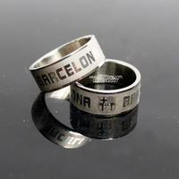 Basa stainless steel silver ring (mix items whole)