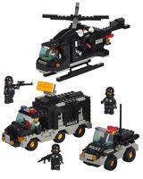 Building Block Set model,3D  Block,Assembled educational toys,SlubanB2100,Free Shipping
