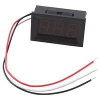 3Pcs Mini DC 0V To 99.9V Red LED Digital Panel Volt Voltage Meter Voltmeter