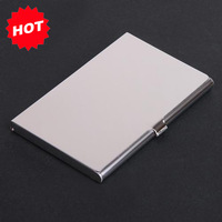2013 New Arrival Shiny mirror aluminum stainles steel name credit card holder case wallet,promotion Items,TNCH023