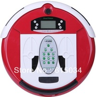 (Free Shipping For Ukraine Buyer)4 In 1 Multifunctional Wet And Dry Robot  Vacuum Cleaner, LCD Screen,Touch Button,Schedule