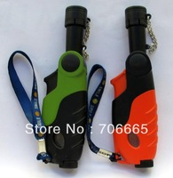 Refillable Torch-Style Jet Flame Butane Gas Cigarette Cigar Lighter