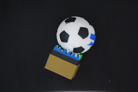 Wholesale Price Full Capacity  Cheap 20pcs/lot Kpop Football Silicone USB Flash Drive Free Shipping
