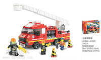 Building Block Set SLuBanM38-B0221 119 fire service center/ladder truck 271PCS,3D Block  Model,Educational