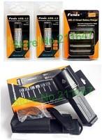 Fenix TK35 Torch CREE XM-L U2 LED Flashlight 860 Lm+Fenix (ARE-C1 charger,car charger+ARB-L2 18650 lithium battery 2)Set