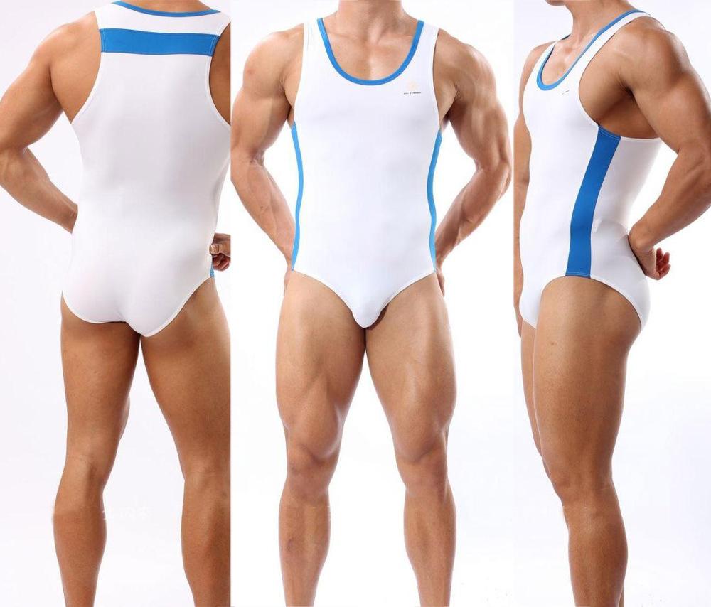 ... wrestling singlete homens do edificio de corpo underwear roupa de