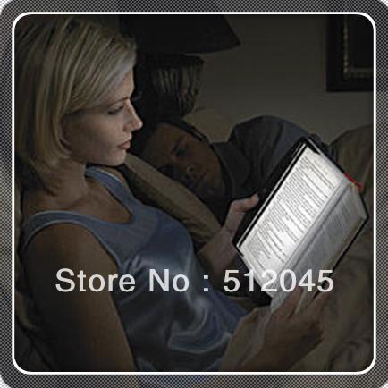 Free sihpping +150pcs novel LED Portable light board Night Reading lights/ Plate reading lights/ Reading Lightwedge wholesale(China (Mainland))