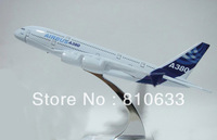 Free shipping christmas  gift for kids Airbus14cm A380 model toys for home decoration
