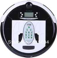 (Free Shipping For SingaporeBuyer)4 In 1 Multifunctional Robot Vacuum Cleaner, LCD Screen,Touch Button,Schedule,Virtual Wall