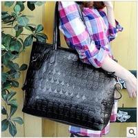 2012 women handbag bag skull bag shoulder bag black bag