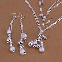 Wholsale 2014 new FASHION jewelry 925 Sterling Silver necklace earrings Penoyjewelry S678