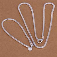 Wholsale 2014 new FASHION jewelry 925 Sterling Silver bracelet necklace Penoyjewelry S721