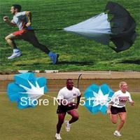 "wholesale 56"" Speed Training Resistance Parachute Running Chute 2pcs/lot novelty items"