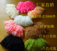 Free ship Children clothes Tutu dresses for girls ballet baby girl dance dress pettiskirt 9 colors GS001