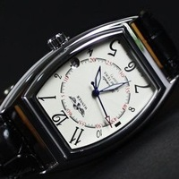 Elegant Brand Winner Mens Square table Fashion Leather Sports Casual Black/white Automatic mechanical wrist watches + gift watch