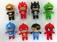 Large Discount Full Capacity 10pcs/lot Kpop Cute Carton USB Flash Drive Free Shipping