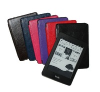 "Newest Black Ultra Slim Leather Case Cover For kindle paperwhite 6"" Tablet+Free Shipping"