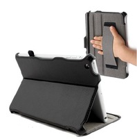 Black Ultra Smart Slim PU Leather Case Cover Stand for The NEW iPad Mini Tablet+ FREE SHIPPING
