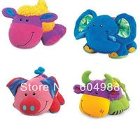 wholesale 60pcs/lot Wholesale Tolo animal baby toys,toddler Infant toys,plush toy