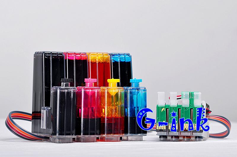 Система непрерывной подачи чернил G-ink Epson Stylus NX125 NX127 NX130 NX230 NX420 NX530 NX625 320 323 325 replacement refillable ink cartridges for epson stylus nx125 workforce 320 323 more