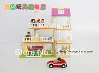 Wange DR.Luck city girl series Building Block Sets 621pcs Educational Jigsaw Enlighten DIY toys for children No.47211N