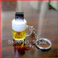 Free shipping,Real Capacity 2GB 4GB 8GB 16GB  beer cup shape USB 2.0 flash memory, usb pen drive, usb disk,10pcs/lot