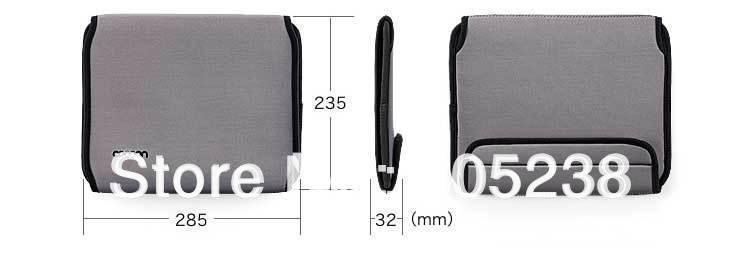Сетка это коврик обернуть Организатор ноутбук мешок случае Организатор для ipod электроники Камера ноутбука футляр